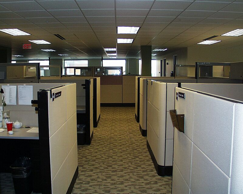 cubicle office space. with cubicles there are few shortcomings too some employees might feel they stuck cramped spaces in it can be hard for an extrovert cubicle office space